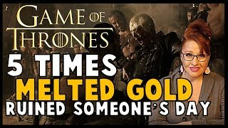 Golden Crown: 5 Times Melted Gold Ruined Someone's Day