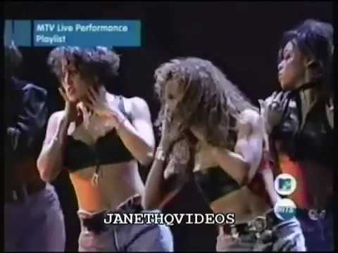 Janet Jackson Live VMA's 1993