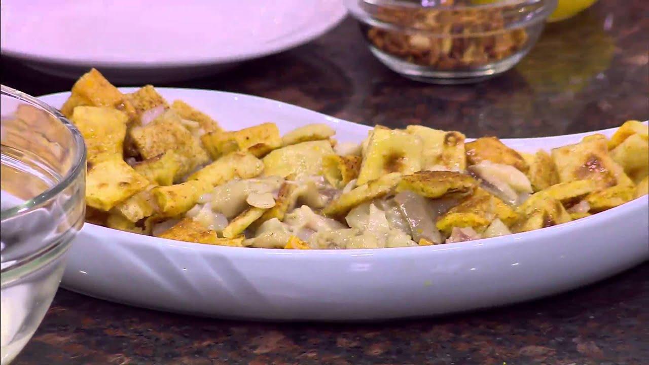 فتة الكوارع - فتة اللحمة مع الدقة - فتة بصلصة الطماطم : من مطبخ أسامة حلقة كاملة