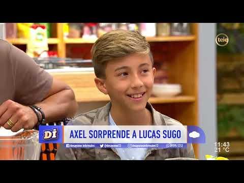 Sorprendo en vivo a Lucas Sugo!