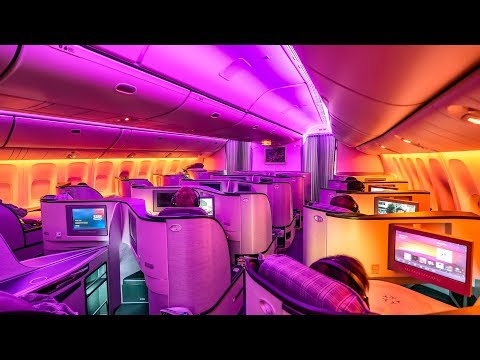 EVA Air's INCREDIBLE 777-300ER Royal Laurel Class! Taipei To Vancouver + STUNNING NIGHT VIEWS