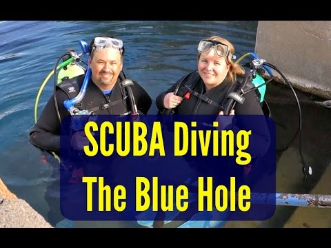 SCUBA Diving the Blue Hole [North American Road Trip #60]