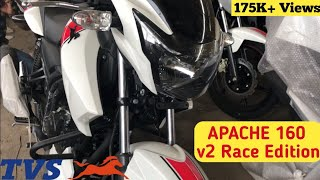 Gambar cover New Apache RTR 160 Race Edition V2 BS4 2018 Full Review, Looks, Price, Features - Cinematic Review