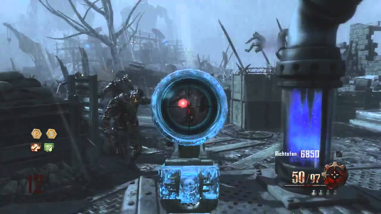 """Black Ops 2 """"Origins"""" - Mauser Upgraded Gameplay & How to ..."""