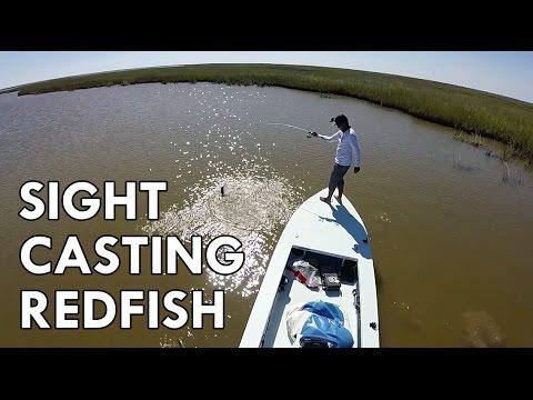 Sight Casting Redfish | Galveston, TX