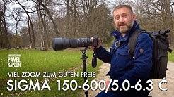 Viel Zoom zum guten Preis: Sigma 150-600 Contemporary