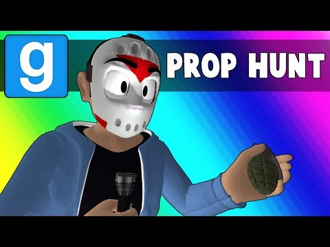 Thumbnail: Gmod Prop Hunt Funny Moments - Trashing the Minecraft Kitchen (Garry's Mod)