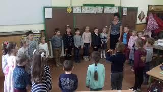 НУШ Ранкова зустріч  у 1-А класі (кл. керівник Плиска В. Ю.)