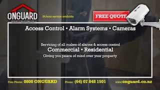 Security Services for Home and Business - On Guard Security Solutions Ltd
