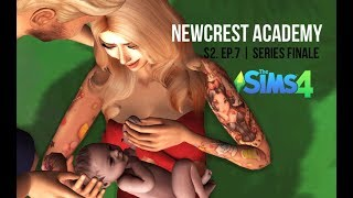 TEEN MOM GIVES BIRTH IN FOREST | NEWCREST ACADEMY | S2. EP.7 | A Sims 4 Series | SERIES FINALE