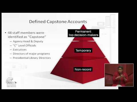 Capstone, A New Approach To Managing Email Records