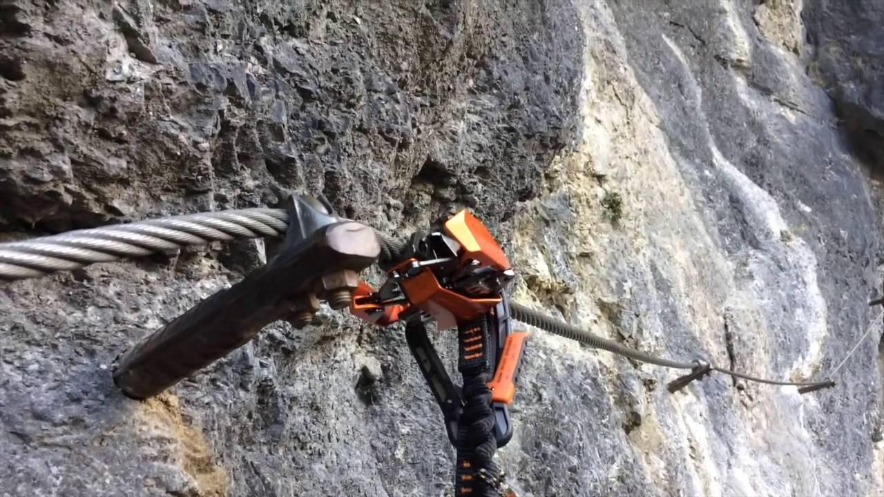 Klettersteigset Skylotec : Skylotec klettersteigset rider youtube