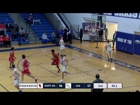 #1 Scott County at #9 Lexington Christian Academy - Boys HS Basketball