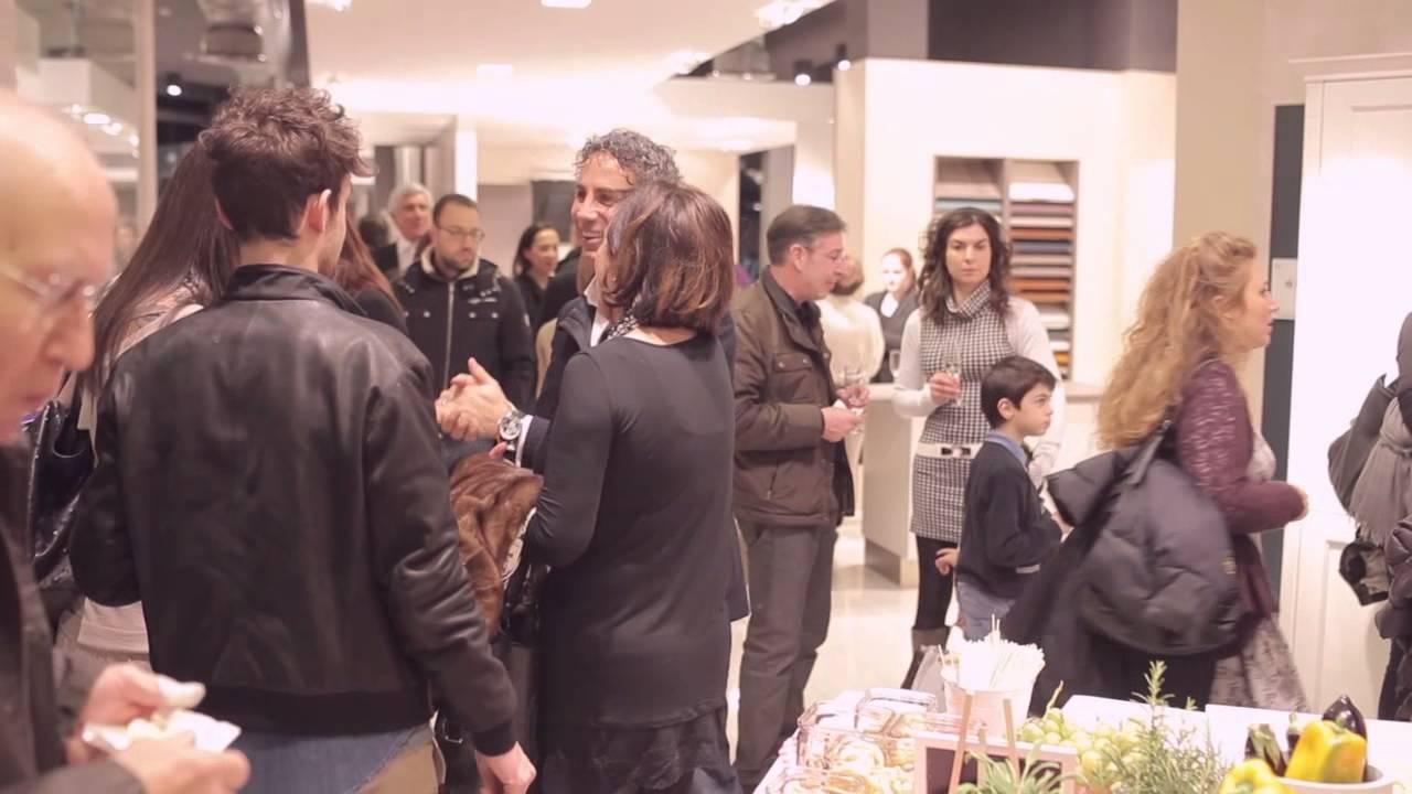 Veneta cucine inaugurazione store gallarate youtube for Arredamenti gallarate