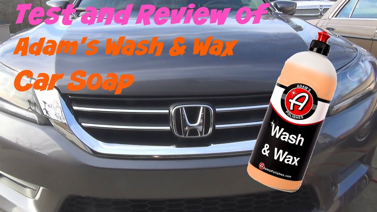 test and review of adams polishes wash and wax car soap. Black Bedroom Furniture Sets. Home Design Ideas