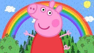 Peppa Pig en Español Episodios completos 🌈 El arcoíris 🌈 Pepa la cerdita