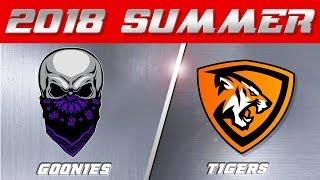 2018 Summer Season   Goonies vs Tigers