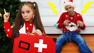 The Christmas Problems Story with Anna and Papa