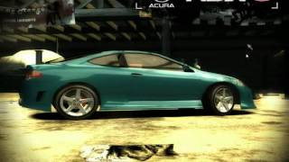 NFS Most Wanted - Nouvelle voiture pour le ModLoader : Acura RSX S-Type 2003 !