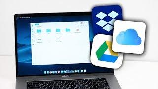 все облачные хранилища в одно приложение на ПК и Mac / OneDrive, GoogleDrive, Dropbox, iCloud Drive!