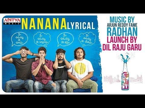 Na Na Na Lyrical || Hushaaru Songs || Sree Harsha Konuganti || Radhan