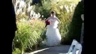 Shannon and Nathan's Wedding - Here comes the Bride!