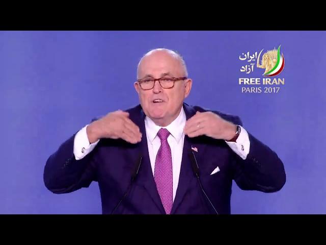 Iranian Grand Gathering 2017 - Rudy Giuliani