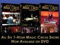 Magic Circus Volume 1 and Volume 2 by Mark Wilson - DVD