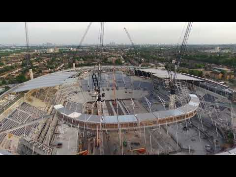 18/05/18 Tottenham Hotspur New stadium Birds Eye View