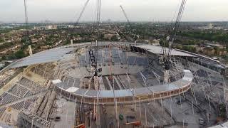 18/05/18 Tottenham Hotspur New stadium Birds Eye View