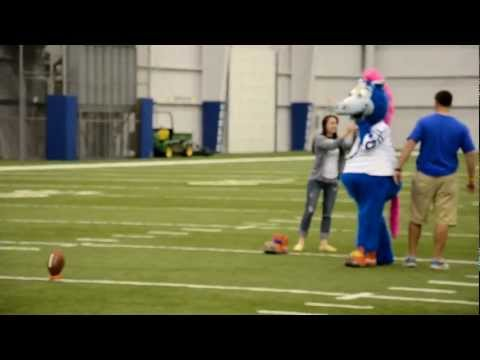 "Colts ""Blue"" the Mascot"