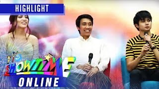 Mr. Q & A Joven Olvido shares his experience in joining the competition | It's Showtime Online