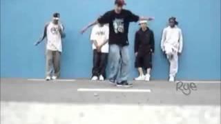 para k las chicas bailen-pasos de c-walk