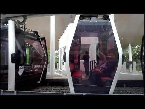 Cable Car / Seilbahn @ IGA 2017 in Berlin