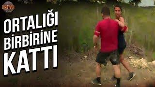Sabriye Kriz Geçirdi!   Survivor Türkiye - Yunanistan