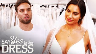 Jess Shears Kicks Her Love Island Beau Out of Her Appointment | Say Yes To The Dress UK