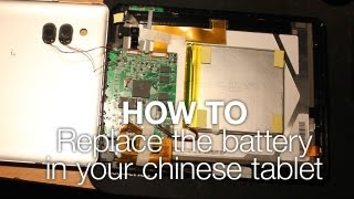 quick tip how to replace the battery in your chinese tablet eken a90