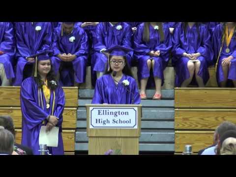 Ellington High School Graduation 2014