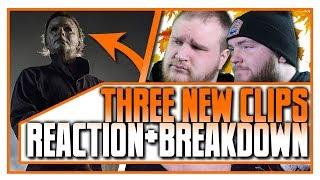 3 New HALLOWEEN (2018) Clips | REACTION + BREAKDOWN | Slash 'N Cast