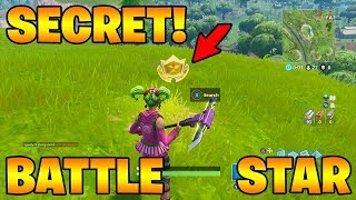 Secret Battle Star Week 3! Fortnite Season 4