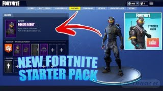 "HOW TO GET FORTNITE NEW ""STARTER PACK"" (ROUGE AGENT) OUTFIT & CATALYST BACKBACK + 600 ""FREE VBUCKS"""