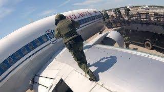 """Работа отряда """"Альфа"""" КГБ: освобождение заложников из самолета"""