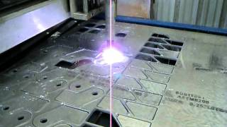 "Cnc Plasma Table Cutting 1/4"" Aluminum 6061-t561"