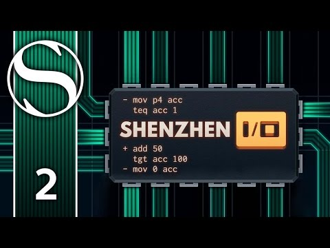FACTORY MODULE & PULSE GENERATOR - Let's Play Shenzhen I/O - Shenzhen IO Gameplay Part 2