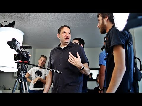 Filming a pilot in Los Angeles - Behind the scenes
