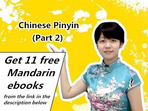 Chinese Pinyin (Part 2)