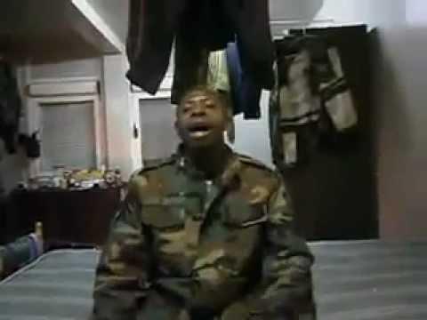 Tentera Ghana menyanyi lagu dikir barat anok tupai(Kelantan)