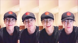 """Gambar cover Lee Donghae """"잘자요 ^^ 🌒"""" YouTube LIVE Stream - 191103"""