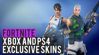NEW Xbox and PS4 Exclusive Skins - Fortnite: Battle Royale