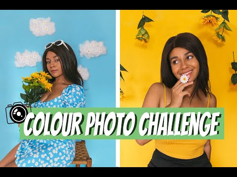 colour-photo-challenge-|-creative-self-portraits